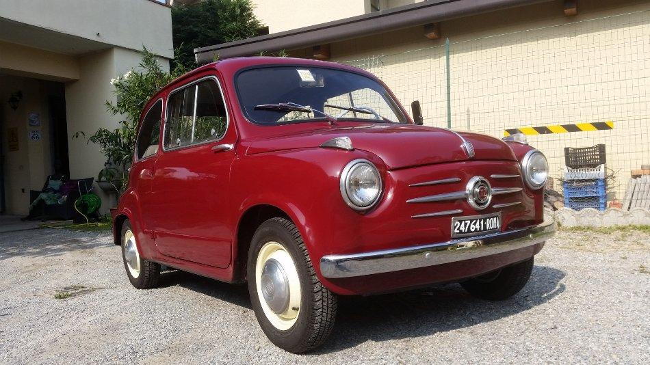 1963年 フィアット 600 シリーズ1